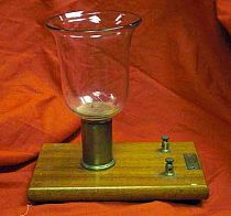 Antique Voltameter, Decomposition Of water By Electricity