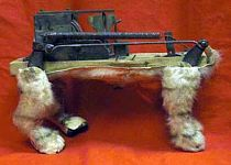 Antique Mechanical Automaton Clockwork Dog
