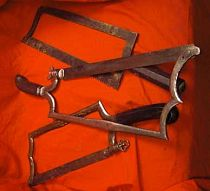 Antique Surgical Amputation Saws