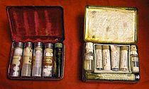 Physicians Antique Pocket Medicine Cases