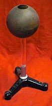 Antique Experimental Electrostatic Hollow Sphere On Stand