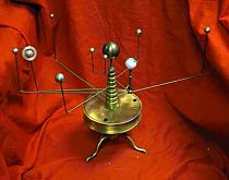 Antique Style Orrery Or Planetarium