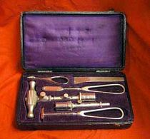 Antique Pocket cased Trephine set