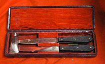 Antique Cased Post Mortem Instruments
