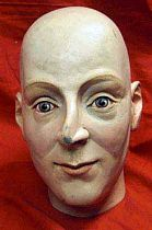 Antique Model Of Human Head