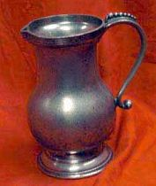 Antique Pewter Jug