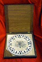 Antique Kelvin Compass Card For A Large Marine Compass