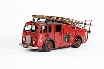Toy tin fire engine