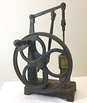 Cast iron beam pump