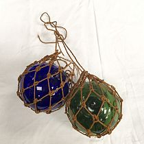 Glass trawler net floats