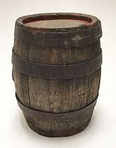 Old wooden barrel / keg