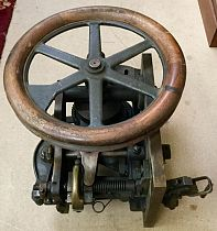 Gear-head pulley machinery