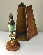 Culpeper microscope with case