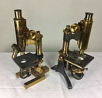 Brass microscopes