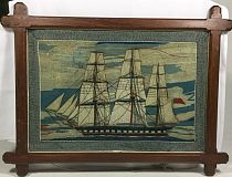 Ship embroidery