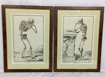 Pair of skeletons