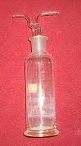 Bottle with twin tubed stopper