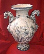 Italian drug jar 17th c