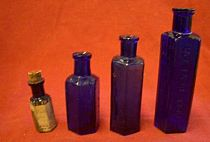 Large Selection of Poison Bottles
