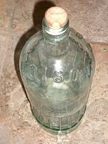 Selection of Large Poison bottles