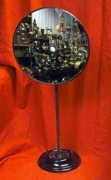 AQntique Convex Mirror On Stand