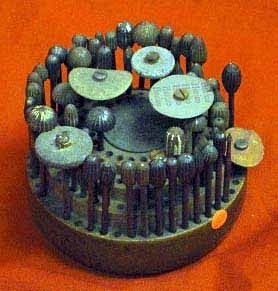 Antique Set Of Dental Burrs