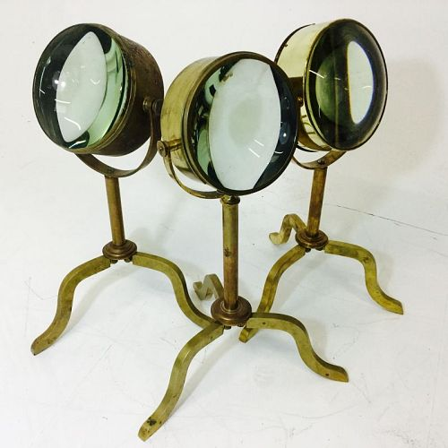 Large magnifying glasses