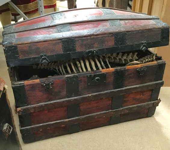 Sea-chest / trunk / treasure-chest