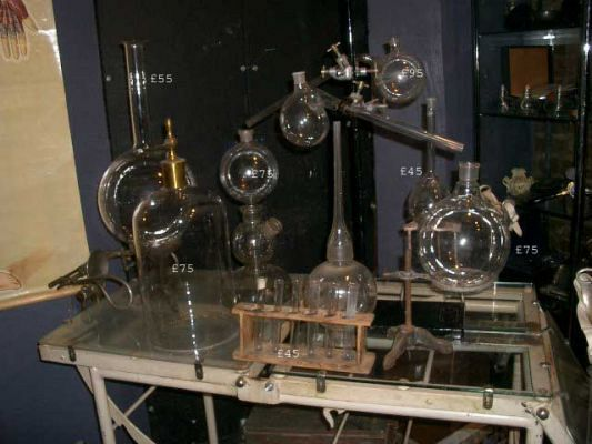 Selection of laboratory equipment