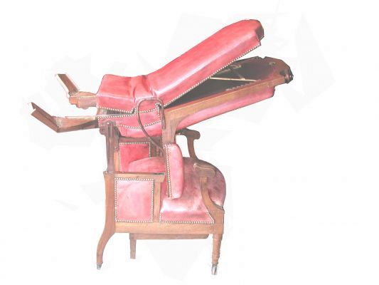 Gynaecology chair