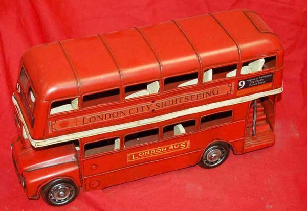 1920's London Bus Tin Toy.