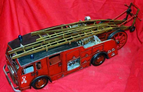 Fire Engine Tin Toy 1930's