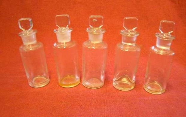 Large Selection of Medicine Bottles.