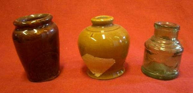 Selection of Stoneware Jars and Bottles