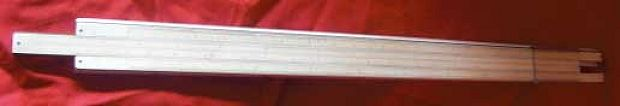 Celluloid Slide Rule