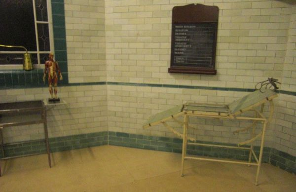 Victorian Operating Theatre With Operating Table