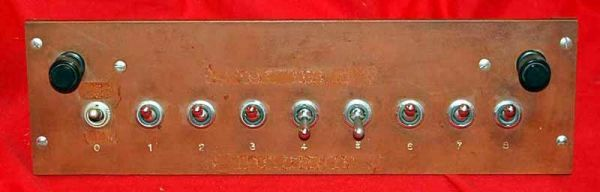 Panel Of Switches