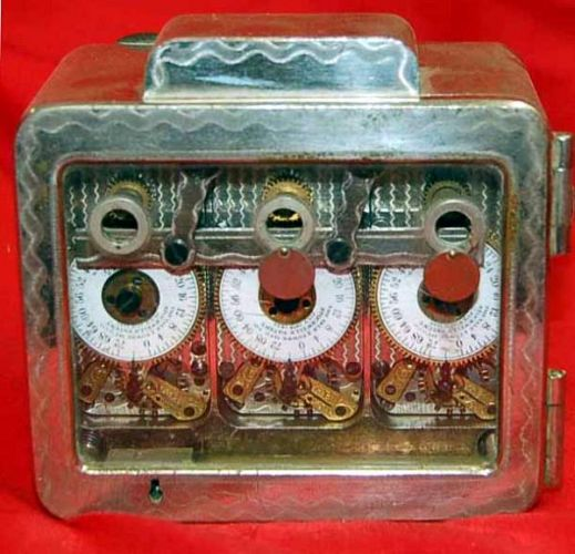 Vintage Safe Time Lock